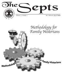 Picture of the cover of an issue of The Septs journal